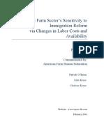 US Farm Bureau Labor Study