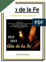 Ano de La Fe Documento 01