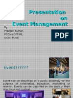 Event Management -Presentations