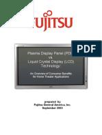 Plasma Display Panel (PDP) vs. Liquid Crystal Display (LCD) Technology: