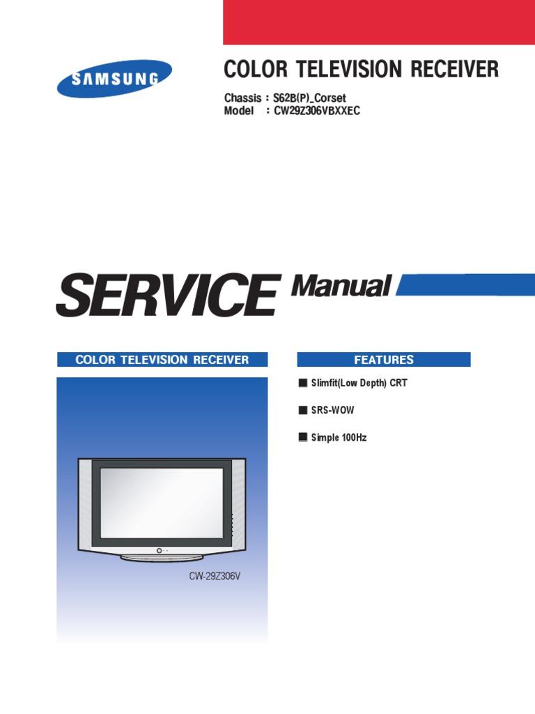 samsung cw29z306vbxxec electrostatic discharge electrical connector rh scribd com Samsung Owners ManualDownload Samsung SMT H3362 Manual