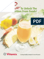 Vitamix Promo Book With Some Recipes