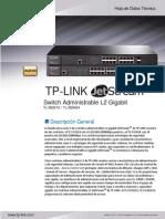 TL-SG3424 V1 Datasheet ES