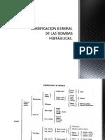 CLASIFICACION GENERAL DE LAS BOMBAS HIDRÁULICAS