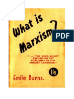 Emile Burns - What is Marxism