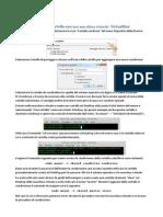 Condivisione Cartella Macchina Virtuale