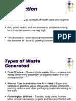 Waste Manegment in Amala Hospital
