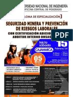 Cajamarca - Normativa Peruana en Seguridad Minera y el Decreto Supremo 055-2010-EM  Reglamento de Seguridad y Salud Ocupacional
