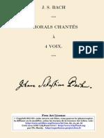 Bach 371 Chorals