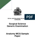 Exm 2011-07-25 Final Anatomy Practice Mcq Questions 2