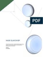 Hack Clave WEP Para Taringa
