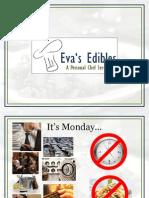 fy13 evas edibles business plan presentation