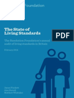 The State of Living Standards