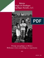 Peritaje antropológico en México - CEAS 2012