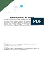 Contemporaneos Del Pasado Curso Pablo Fessel