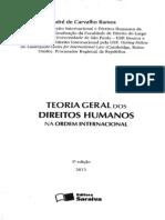 Teoria Geral dos Direitos humanos na Ordem Internacional.
