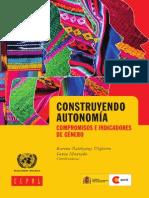 Libro Autonomia Genero Batthyany