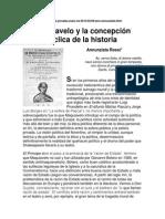 Annunziata Rossi- ART -Maquiavelo y la concepción cíclica de la historia