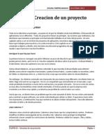 PARTE III - Creacion de Un Proyecto