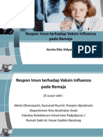 Respon Imun Terhadap Vaksin Influenza Pada Remaja