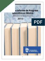 Informe de Progreso Educativo 2013-11-25
