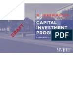 Washington USD_Capital Investment Program Draft