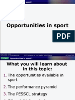 GCSE PE 1.1.2.c Opportunities to participate in physical activity