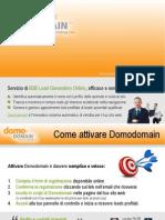 B2B Web Leads | Come attivare Domodomain