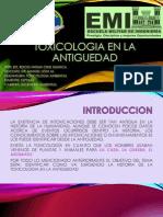 Toxicologia en La Antiguedad