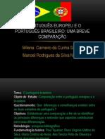 O português europeu e o  português brasileiro 2