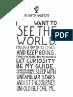 Printable Maptia Manifesto