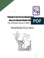PROPEDEUTICO 2014