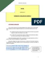 B) Formato y Series