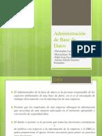 Administración de Base de Datos