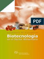 BIOTECNOLOGÍA EN EL SECTOR ALIMENTARIO