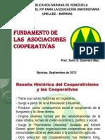 Fundamentos de Las Asociaciones Cooperativas