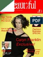 6455245 Just as Beautiful Magazine June 2008