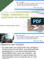 Wikis Para Fomentar El Trabajo Colaborativo