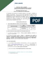 Edital do curso- Programa de Residência em Área Profissional da Saúde - Biomedicina