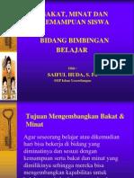 BAKAT & MINAT SISWA