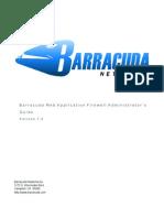 BarracudaWebAppFirewall AG Manual