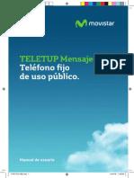 Manual Teletup Mensajes