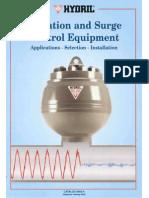 Pulsation & Surge Control Equip