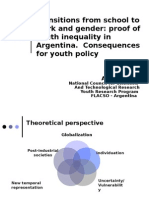 Transitions From School to Work and Gender