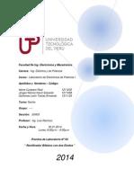 Informe de Lab. N02 - Rectificador Monofasico de Onda Completa