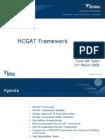 Kenexa Framework MCGAT