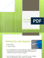 cirugia biopsia