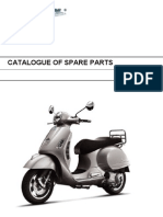 Vespa GTS125 Parts Diagram