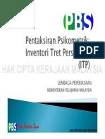 Pentaksiran Psikometrik Inventori Tret Personaliti (ITP)