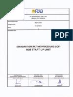 LR-PK-UN-003 SOP Hot Start Up Unit (Rev01)